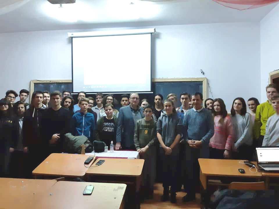 """Profesorul Dr. Ștefan Andrei, de la Lamar University, a venit la """"Programare cu răbdare"""""""