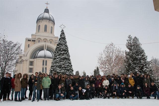 """Grupul elevilor și care au participat la """"Programare cu răbdare"""" în ziua de 15 decembrie 2018"""